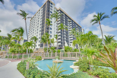 Coronado At Highland Beach Condo Condo For Sale: 3400 S Ocean Boulevard #10c