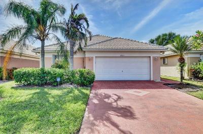 Boynton Beach Single Family Home For Sale: 12831 Hampton Lakes Circle