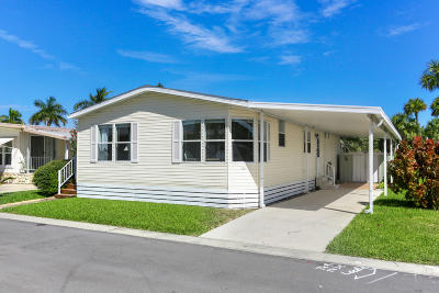 Mobile Home Sold: 400 A1a, #94