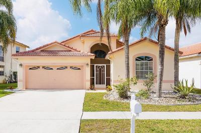 Boynton Beach Single Family Home For Sale: 12351 Sand Wedge Drive