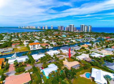 Singer Island Single Family Home For Sale: 1191 Bimini Lane