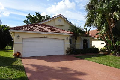 Boynton Beach Rental For Rent: 12419 Pleasant Green Way