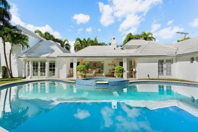 Palm Beach FL Single Family Home For Sale: $5,395,000