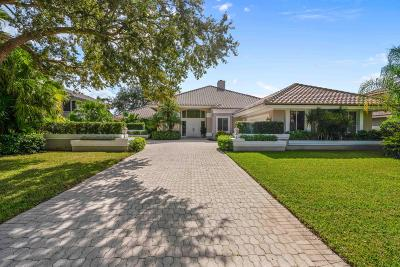 Palm Beach Gardens Single Family Home Contingent: 19 Sheldrake Lane