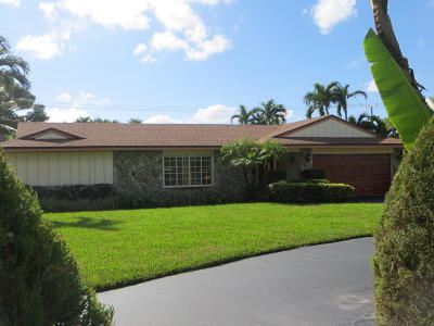 Delray Beach Single Family Home For Sale: 3416 Lowson Boulevard