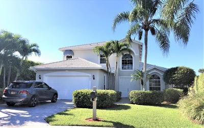West Palm Beach Single Family Home For Sale: 9741 Spray Drive