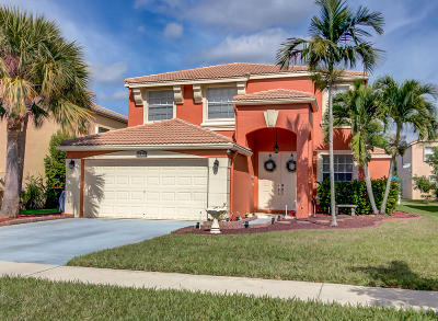 Royal Palm Beach Single Family Home For Sale: 2410 Westmont Drive