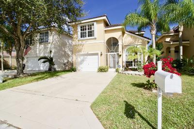 Lake Worth, Lakeworth Single Family Home For Sale: 7835 Springfield Lake Drive