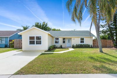 Royal Palm Beach Single Family Home For Sale: 10198 Patience Lane