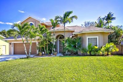 Hobe Sound Single Family Home For Sale: 8090 SE Crossrip Street