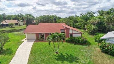 Delray Beach Single Family Home For Sale: 14819 Hideaway Lake Lane