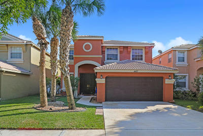 Royal Palm Beach Single Family Home For Sale: 1427 Briar Oak Drive