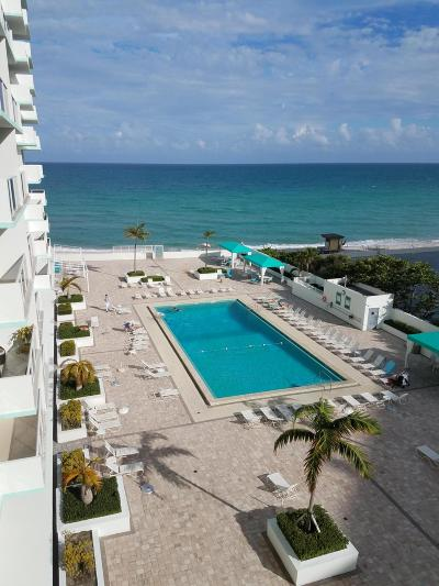 Hollywood Condo For Sale: 3725 S Ocean Drive #610