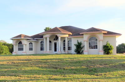 Loxahatchee Single Family Home Contingent: 18726 48th Avenue
