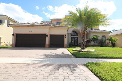 Royal Palm Beach Single Family Home For Sale: 1821 Waldorf Drive