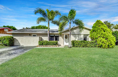 Boca Raton Single Family Home For Sale: 9189 Affirmed Lane