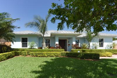 West Palm Beach Single Family Home For Sale: 251 Alhambra Place