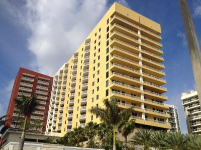 West Palm Beach Rental For Rent: 1551 Flagler Drive #903