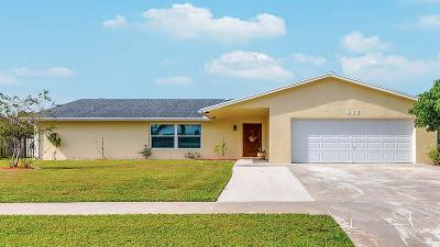 Royal Palm Beach Single Family Home Contingent: 417 Las Palmas Street