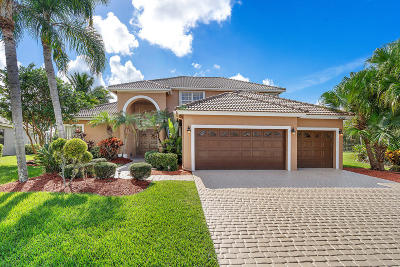Boca Raton Single Family Home For Sale: 12710 Torbay Drive