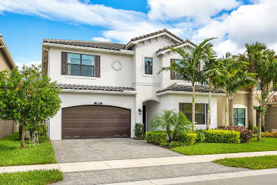Delray Beach Single Family Home For Sale: 13828 Moss Agate Avenue