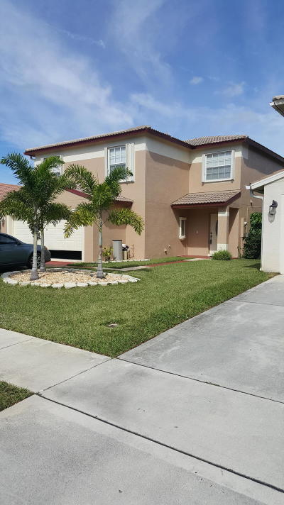 Lake Worth, Lakeworth Single Family Home For Sale: 5229 Rivermill Lane
