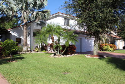 Lake Worth Single Family Home For Sale: 8117 Pelican Harbour Drive