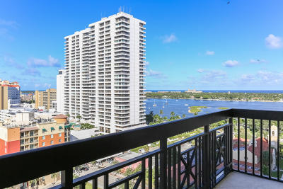 West Palm Beach Condo For Sale: 701 S Olive Avenue #1023