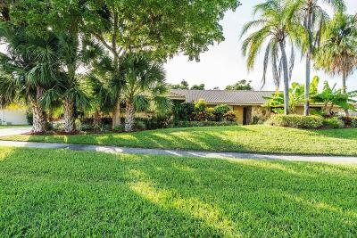 Boca Raton Single Family Home For Sale: 6761 Entrada Place