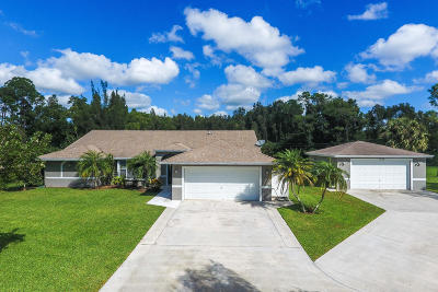 West Palm Beach Single Family Home Contingent: 12177 86th Road