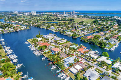 North Palm Beach Single Family Home For Sale: 721 Waterway Drive