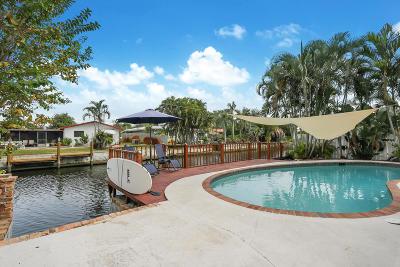 Oakland Park Single Family Home For Sale: 4670 NE 15th Avenue