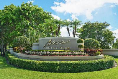 Boca Raton Townhouse For Sale: 17046 Boca Club Boulevard #5