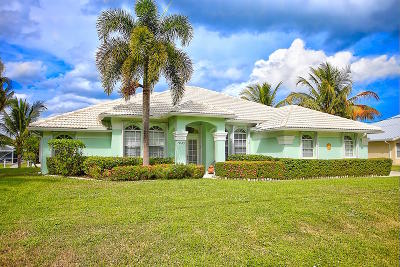 Hobe Sound Single Family Home For Sale: 9145 SE Delafield Street