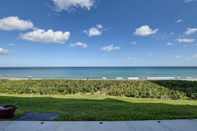 Highland Beach Condo For Sale: 3115 S Ocean Boulevard #102