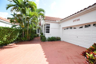 Boca Raton Single Family Home For Sale: 17736 Candlewood Terrace #17736