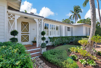 Palm Beach Single Family Home For Sale: 248 Colonial Lane