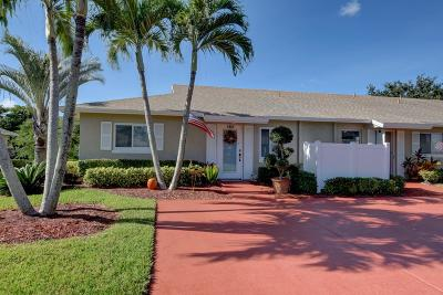 Boca Raton Single Family Home For Sale: 8758 Windrow Way #A