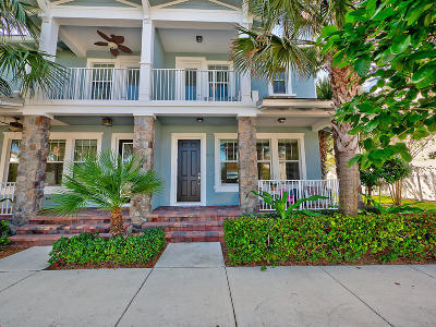 Jupiter Townhouse For Sale: 1138 Sweet Hill Drive