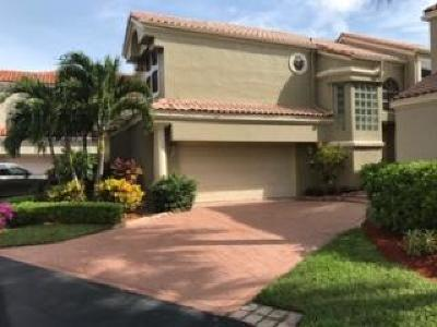 Boca Raton Single Family Home For Sale: 17666 Tiffany Trace Drive