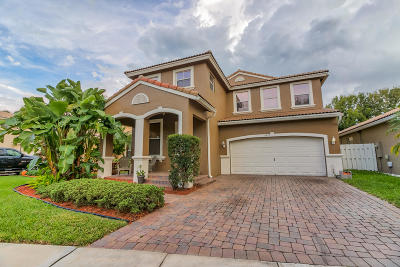 Lake Worth Single Family Home For Sale: 5277 Sancerre Circle