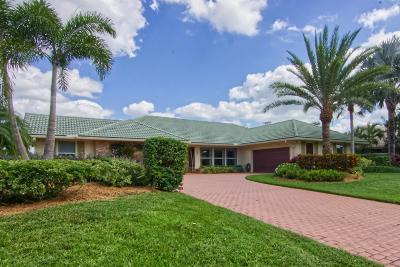 Palm Beach Gardens Single Family Home For Sale: 55 Dunbar Road