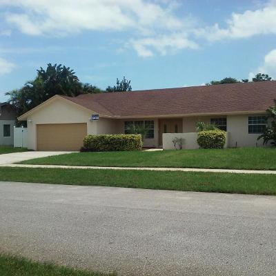 Boca Raton FL Single Family Home For Sale: $449,000