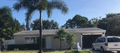 Jensen Beach Single Family Home For Sale: 1673 NE Arch Avenue