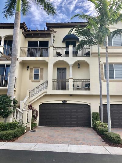 Boynton Beach Townhouse For Sale: 3123 Waterside Circle
