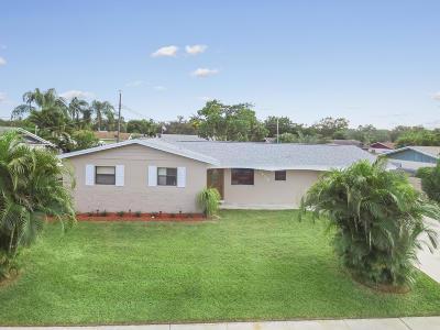 Palm Beach Gardens Single Family Home For Sale: 3212 Capri Road