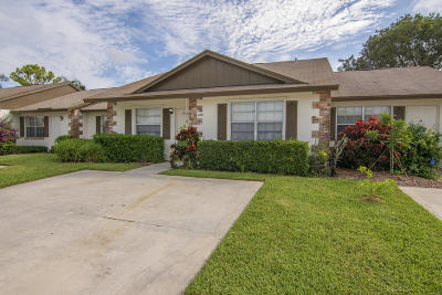 Jupiter Townhouse For Sale: 108 Doe Trail