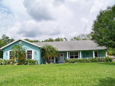 West Palm Beach Single Family Home For Sale: 15385 87th Trail
