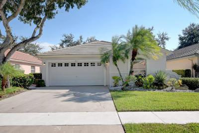 Boynton Beach Single Family Home For Sale: 9911 Harbour Lake Circle