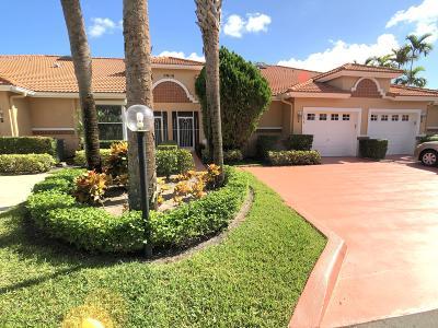 Boynton Beach Single Family Home For Sale: 9808 Summerbrook Terrace #C